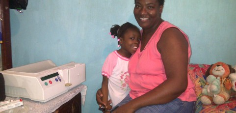 Home dialysis for Montego Bay patient – March 2015